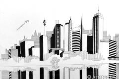 Урок по композиции - Мегаполис