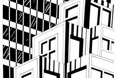 Урок по композиции - Мегаполис работа-2