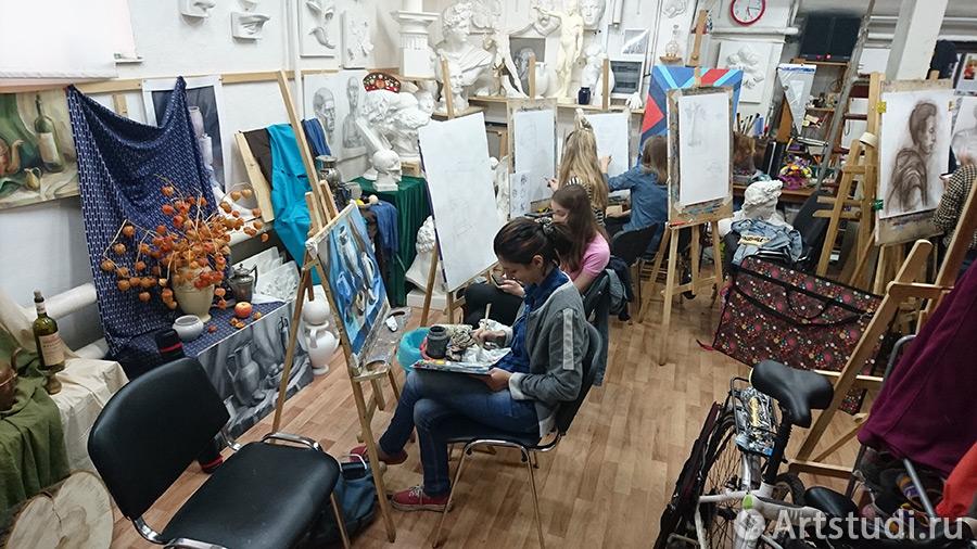 Наша художественная студия