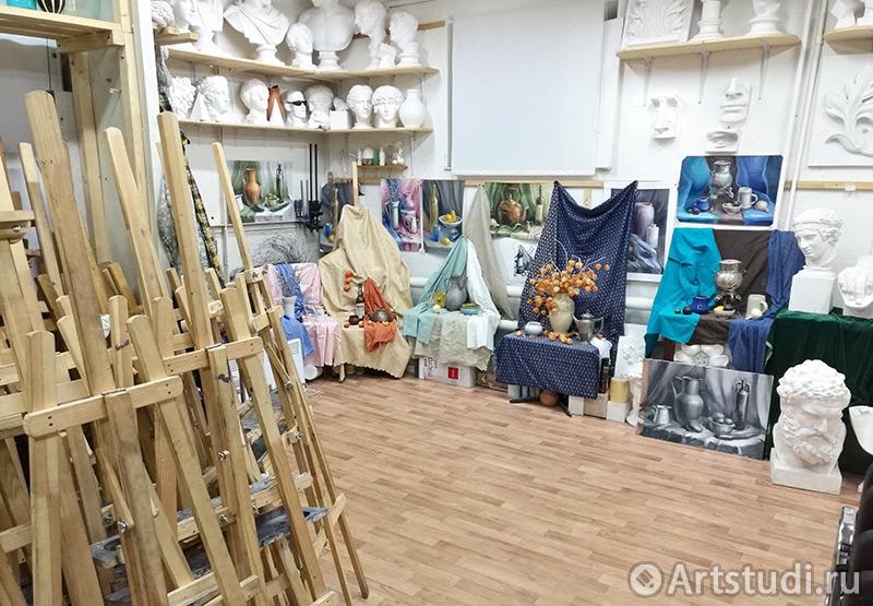 Художественная студия в Москве