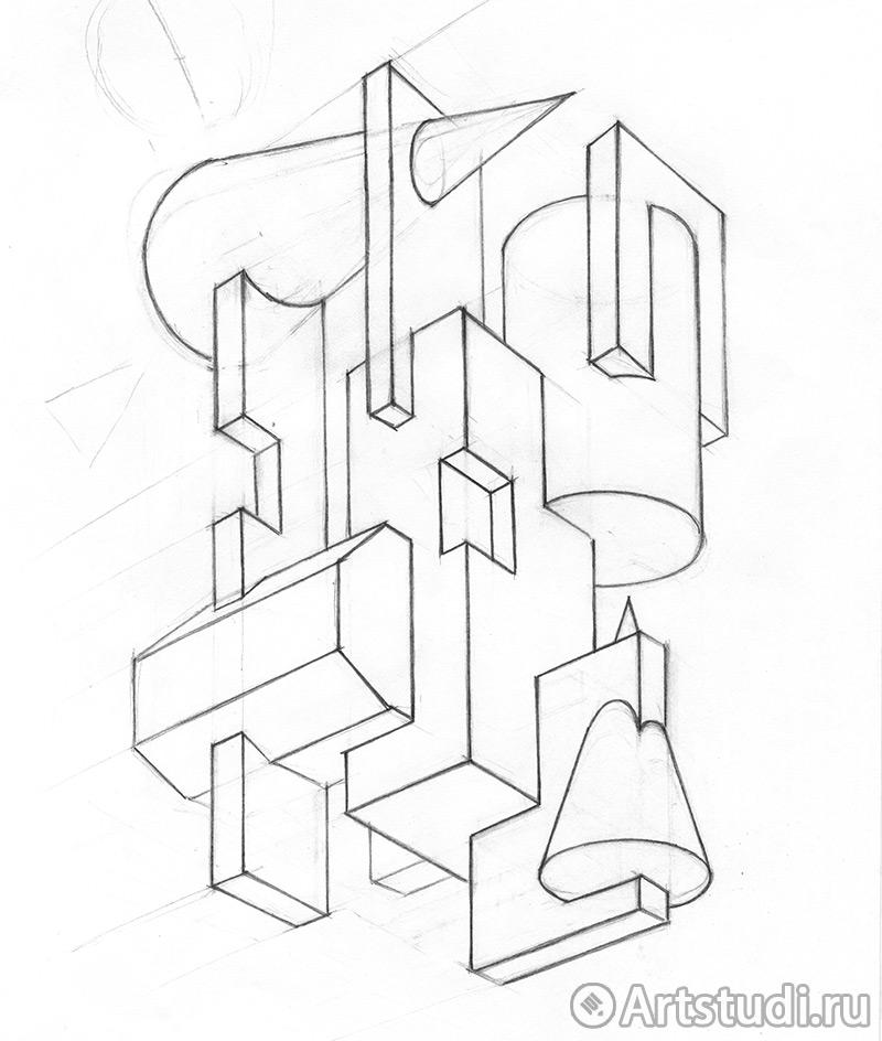 Эскиз для работы Врезки