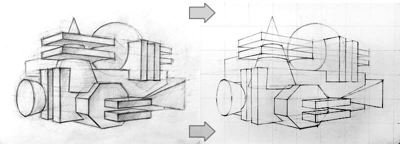 Метод переноса рисунка